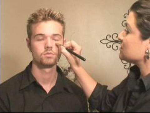 Makeup For Men : How to Apply Concealer Makeup on Men