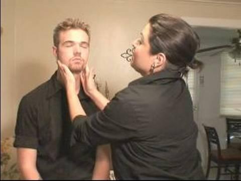 Makeup For Men : How to Blend Makeup on Men