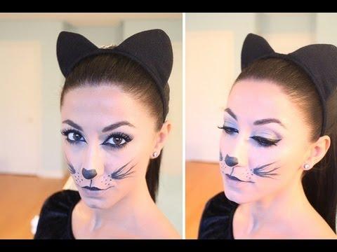 Как сделать из себя кошку макияж