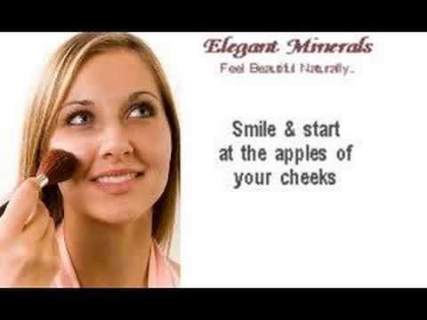 How To Apply Mineral Makeup. Application Tips.