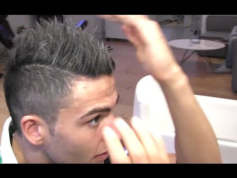 Mens Hair Neymar Inspired Hair Style From Cristiano Ronaldo