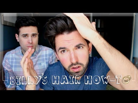Men's Hairstyles – How Billy Styles His Hair