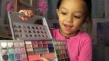 6 Year Old Makeup Pro *Make up Look* bellas new makeup look