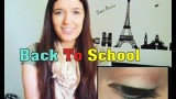 1 Minute Back To School (Middle School) Makeup Look Tutorial