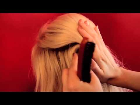French Twist Hairstyle   Long Hair Hairstyling Tutorial