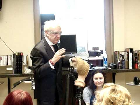 Nicholas French 'How To Create The French Twist' at The Paul kenneth Salon & Spa