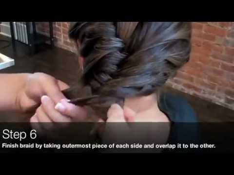 How To Make The Side Fishtail Braid Hairstyle via Kenra Professional