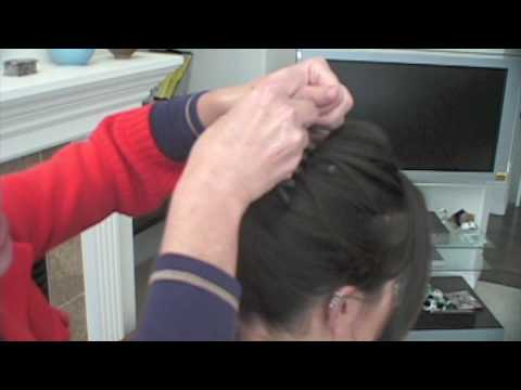 Look Good Now Quick Hairstyles-French Twist