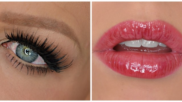 Fall Inspired Makeup ♡ Berry Lip & LASHES