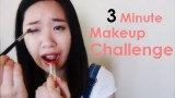 Tag: 3 Minute Makeup Challenge