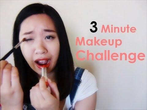 Tag: 3 Minute Makeup Challenge