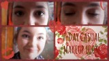 Valentines Day ♥ Casual Makeup Tutorial