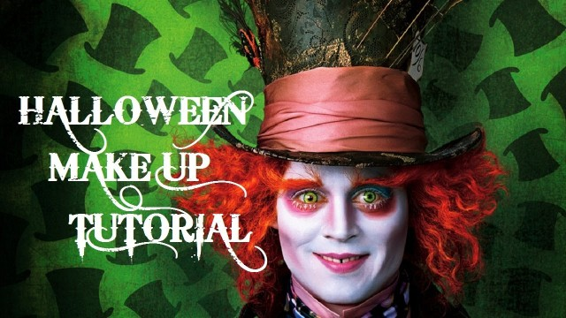 Halloween MakeUp Tutorial Poraccio – Tim Burton's ALICE IN WONDERLAND: THE MAD ...