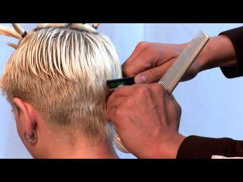 Razor Cut Haircut Using Paul Mitchell Carving Comb Dsx4 Razor And