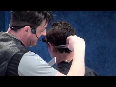 Haircutting for short hair
