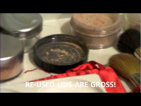 How to use the Minerals Mate mineral makeup palette