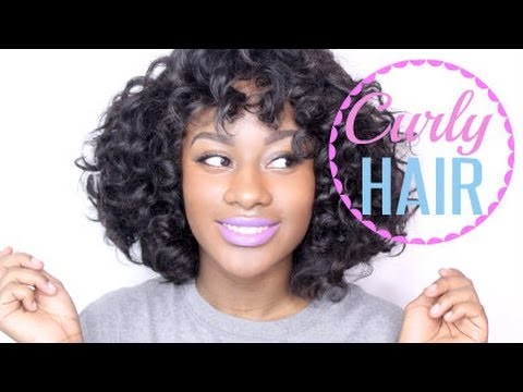 How To : Curl Short Hair