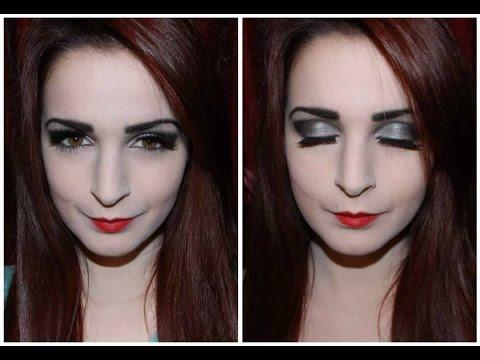 Μακιγιάζ εμπνευσμένο από την Morticia (Addams Family)