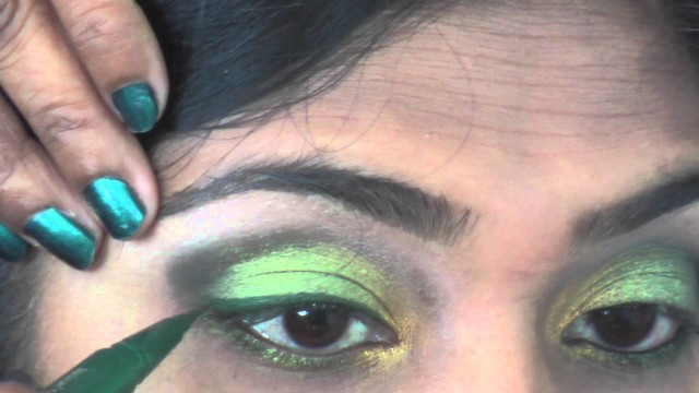 Olive Green Make-up Tutorial