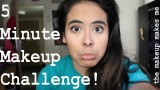 I'M A FAILURE! – 5 Minute Makeup Challenge!