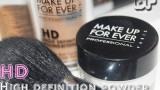 Review HD Powder Make Up For Ever