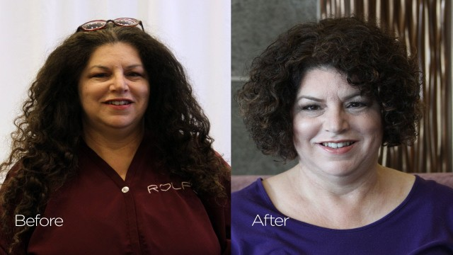 Before & After: Short Curly Hairstyles for Summer | Hair Donation Makeover