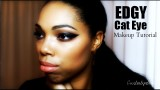 Edgy Cat Eye Makeup Tutorial : Curlsnlipstick