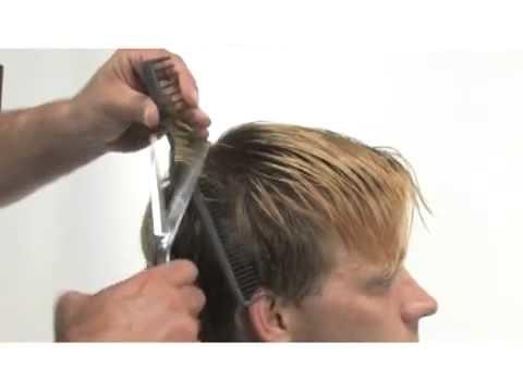 Joe Hamer Salon Mill Valley CA 94941 – Men's Barber Cut Triangle Layers