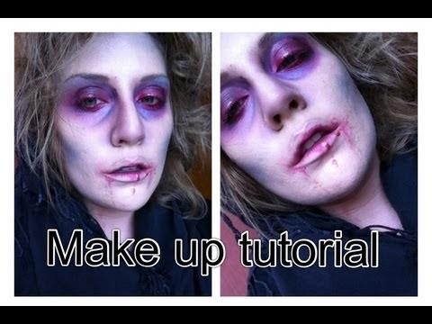 trick or treat halloween makeup tutorial