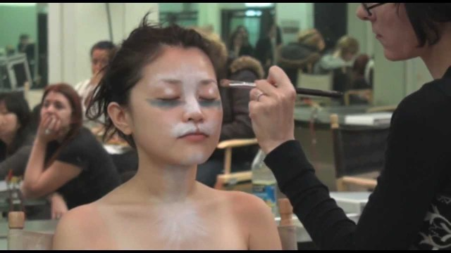 Airbrushing Class at Cinema Makeup School