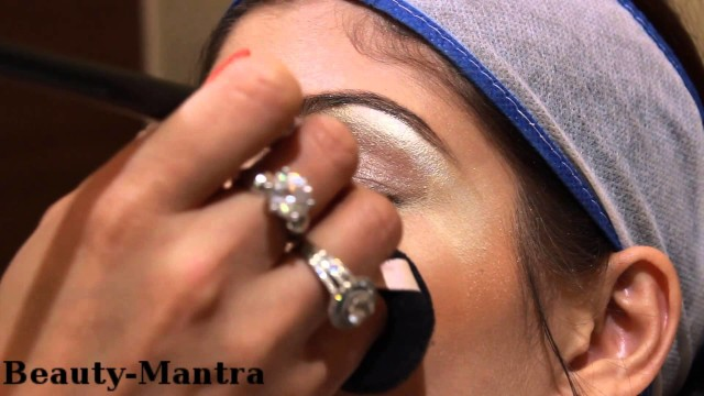 Indian Bridal Makeup with Flower Jewelry