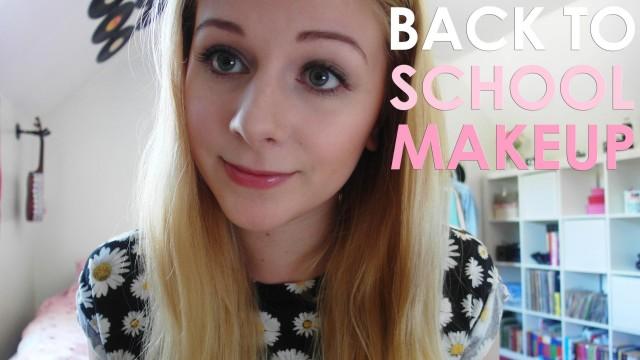 Subtle Back to School Makeup Look for Beginners
