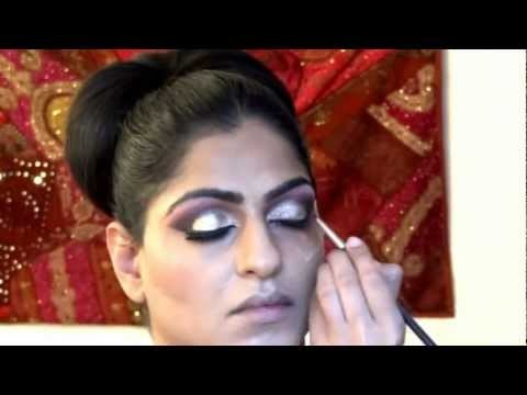 Indian/Pakistani bridal wedding makeup by Raji