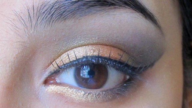 Bronze Smokey Eye Makeup : Makeup tutorial for Indian  tan or brown  Skin