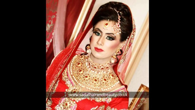 Real Bridal makeup and hair by Sadaf Wassan 13