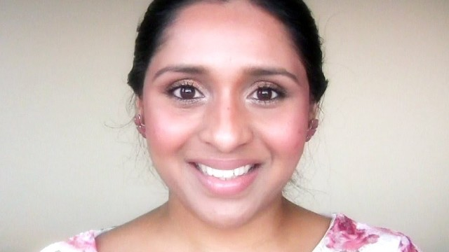 Everyday Neutral and Natural Spring Makeup Look Tutorial, Simple Eye Makeup For Brown/Tan Skin